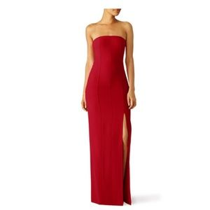 Elizabeth and James cardinal carly red gown Sz 4